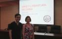Wei Ran, profesor del Instituto de America Latina, CASS y Marianne Stein, Directora de Postgrado Humanidades UDD.