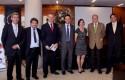 Jorge Molina, Armando Roa, Federico Valdés, Juan Eduardo Vargas, Marianne Stein, Dirk Leisewitz y Daniel Contesse