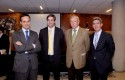 Juan Eduardo Vargas, Daniel Contesse, Dirk Leisewitz y Jorge Molina.