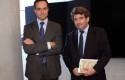 Juan Eduardo Vargas y Armando Roa.