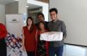 Liceo Paula Jaraquemada recibiendo su premio