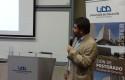 Armando Roa iniciando la presentación