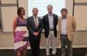 Equipo organizador, Marianne Stein, Raúl Campusano, Juan Eduardo Vargas y Armando Roa