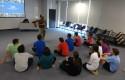 Renzo Briceño y alumnos