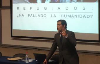 Conferencia en Bachillerato sobre el porqué de la crisis de los refugiados sirios