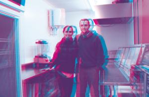 Pelayo Acondo y su hermana Bárbara