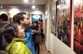 Sala de Arte UDD en Concepción es inaugurada con exposición del Colectivo A5