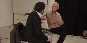 Armando Roa y Francisco Claro en El Clandestino