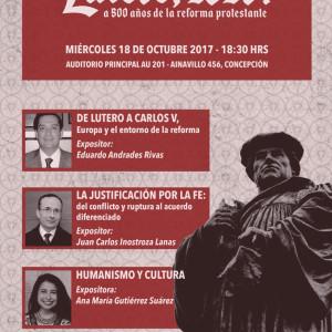 Seminario 500 años de Lutero - Concepción