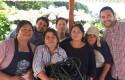 Junto a Agrupación de Recolectores de Cheuque, Los Ríos