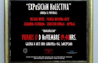 """Inauguración de la muestra """"EXPoSICIóN KoLECTIVA"""" en Concepción"""