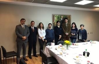 Premiación concurso de cuentos y poesía en Concepción