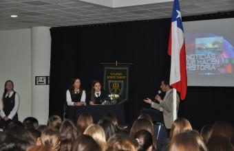 Guido Larson invitado por el colegio Monte Tabor