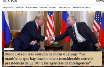 Guido Larson tras reunión de Putin y Trump - Radio DUNA