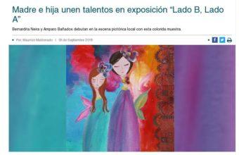 "Madre e hija unen talentos en exposición ""Lado B, Lado A"" - Diario Concepción"