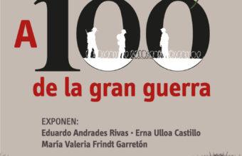 """Conferencia """"A 100 años del fin de la gran guerra"""" en Concepción."""