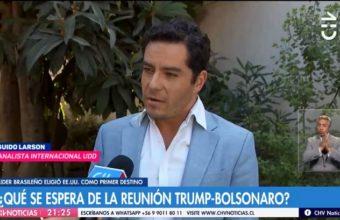Líder Brasileño eligió EE.UU. como primer destino - Chilevisión