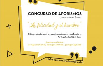 ¡Participa en la versión 2019 del concurso de Aforismos!