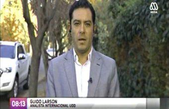 Entrevista a Guido Larson, analista internacional UDD sobre alzamiento en Venezuela contra Maduro - Mega