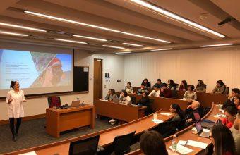 Humanidades organizó charla sobre cambio climático
