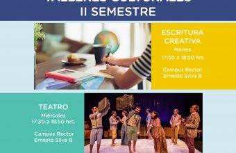 Participa en los talleres culturales del segundo semestre