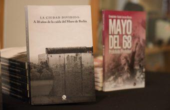 Instituto de Humanidades presenta libro que conmemora los 30 años de la caída del Muro de Berlín